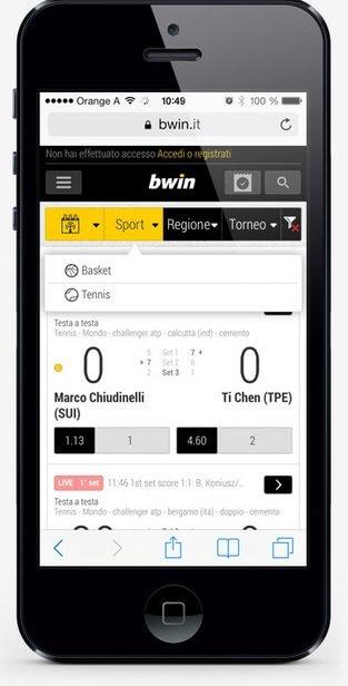 app bwin