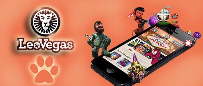 Leovegas applicazione mobile
