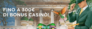 mr green bonus benvenuto casino