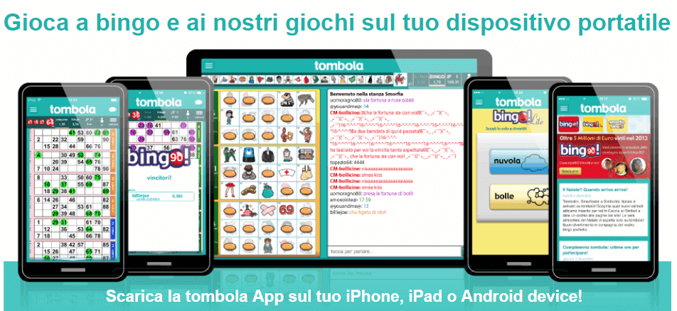 mobile app tombola.it