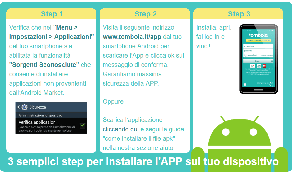 scaricare app android tombola.it