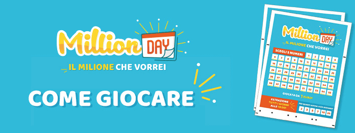 million day come giocare