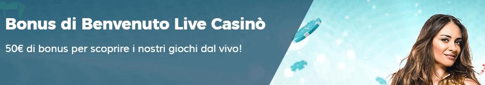 bonus benvenuto casino live starcasino