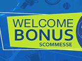 welcome bonus scommesse sisal
