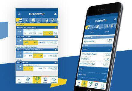 iscriversi via mobile app eurobet