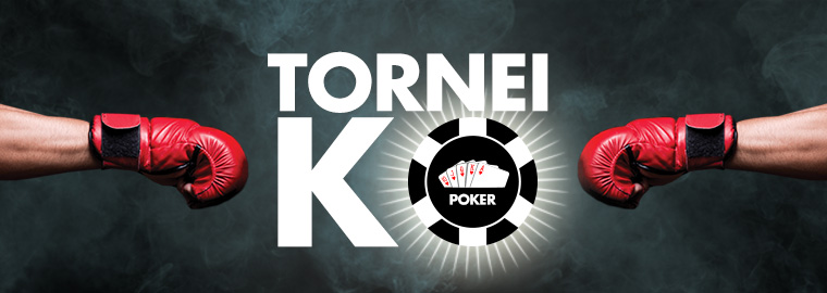 bonus lottomatica poker tornei ko