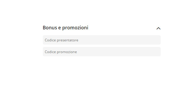 codice promozione codere