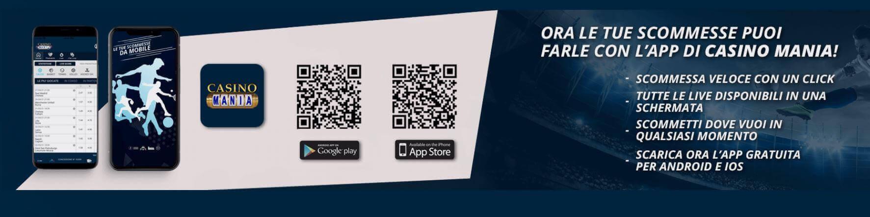 Casino Mania app
